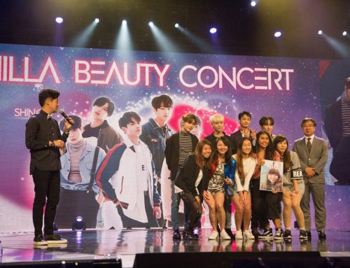 Shilla Beauty Concert in Singapore