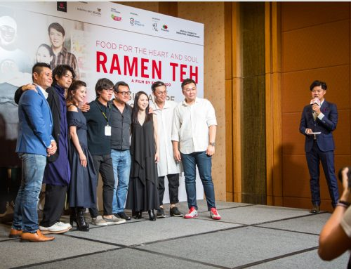 Ramen Teh Movie Press Conference