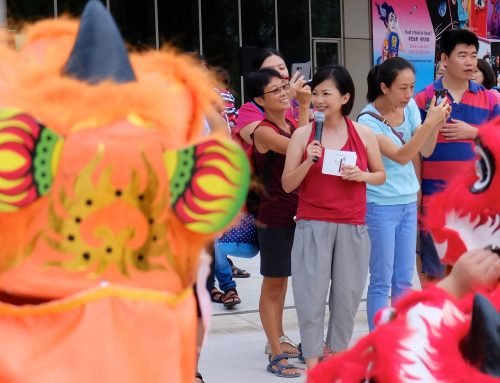 Esplanade Huayi Chinese Festival of Arts Little Festive Roars