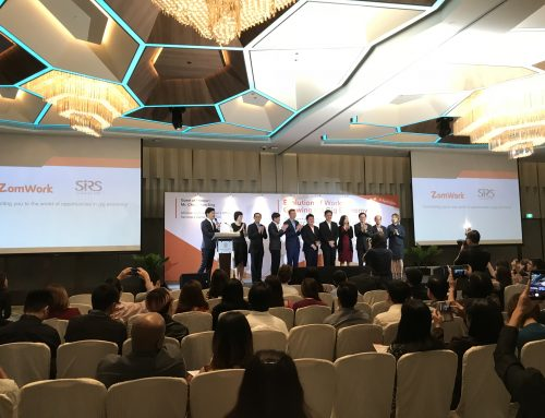 Official Launch of ZomWork & Signing of Memorandum of Understanding with Singapore Institute of Retail Studies