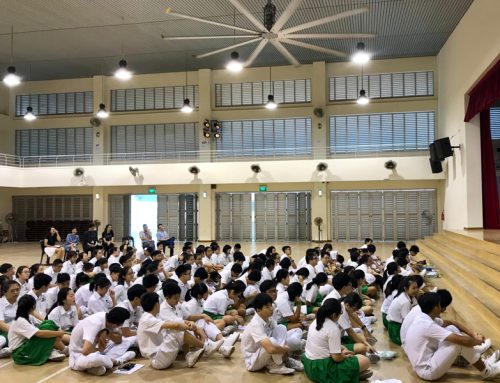 School Talk at Gan Eng Seng Secondary School
