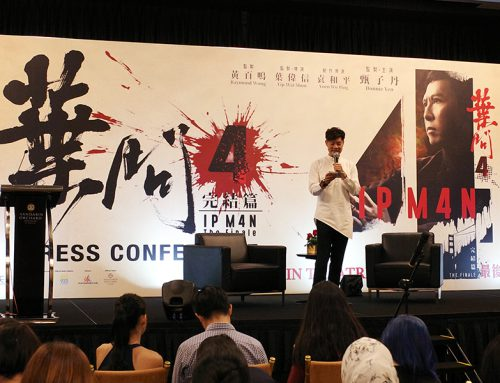 Ip Man 4: The Finale Movie Press Conference