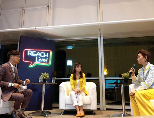 REACH Live! Talkshow on Facebook (Mandarin)